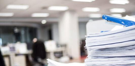 Masowe niszczenie dokumentów firmowych w Chorzowie